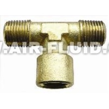 Female BSPP– Line Male BSPT Thread - Branch N.P Brass Fittings