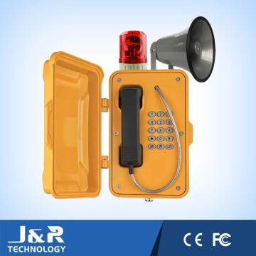 Minibus Telefon, Notruftelefon, Tiefgarage Telefon, IP67 Minning Telefon