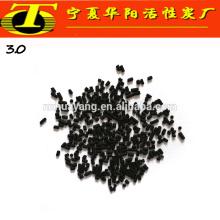3mm carbón de antracita carbón activado