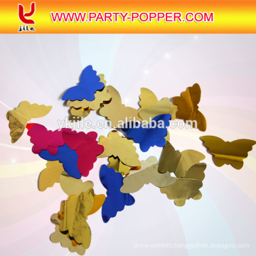 JiLe Customize Metallic Shape Table Confetti with Butterfly