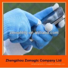 Gants tricotés acryliques d'écran tactile de doigt pour l'iPhone ZMR728