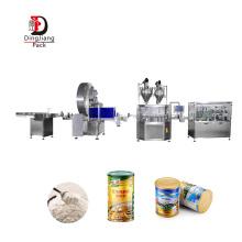 Excellent Quality Automatic 10g-5kg Protein Seasoning Milk Powder Bottle Auger Filling Machine