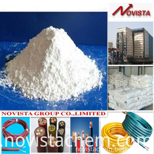 CM chlorinated polyethylene for wire cable production