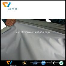 Tissu extensible réfléchissant gris clair EN471