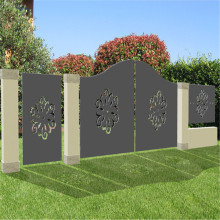 Laser Cut Metal Screen Gate