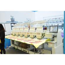 As 6 cabeças pequenas as mais novas automatizaram o tampão de máquina do bordado / a máquina do bordado t-shirt