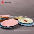 Hochwertige Hausgebrauchdekorative keramische Butterschale / Platte