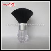 makeup plastic refillable container powder brushes,makeup cosmetic material puff jar brushes free samples,make up brush