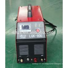 Cortador de Plasma Inverter Plasma LGK-80G