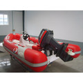 Rib Boat 4.20m With 4-Stroke 15hp Electric Start