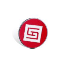 Distintivo de impresión offset, pin de epoxi-goteo organizativo (GZHY-OP-004)