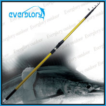 Good Performance Mixed Carbon Tele Surf Rod Fishing Rod