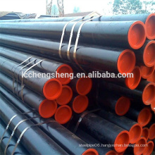 ASTM 1045 hot rolled seamless black steel pipe precision tube smls pipe surface painting