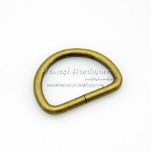 antique brass metal d ring