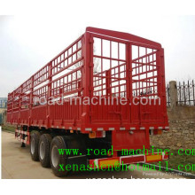 SINOTRUK 3 AXLES HIGH COLOUMN CARGO TRAILER