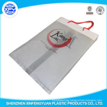 PO Plastic Shopping Bag With Rope Handle Custom Logo Bags