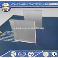 tela de dobramento usado folha de plexiglass fosco claro