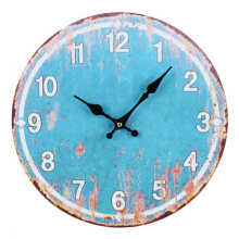 Antique  blue clock