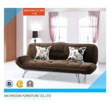 Mobiliário de sala de estar Sofá cama de canto de tecido dobrável