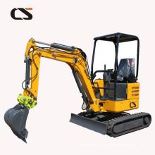mini hydraulic excavator price 2.2/1.8Ton Turbo Engine