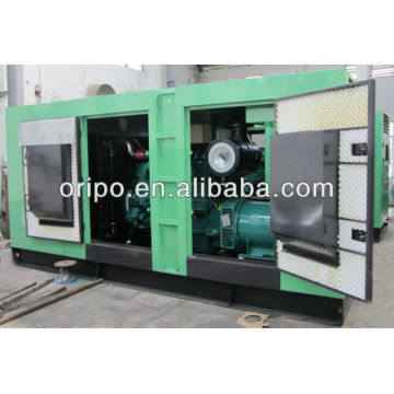 400kva silent genset diesel engine synchronous brushless alternator with soundproof canopy