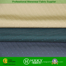 100% Polyester Stretch Fabric with Jacquard for Men′s Garment