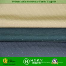 100% poliéster tecido elástico com Jacquard para o vestuário Men′s