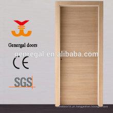 Porta de madeira do núcleo de aglomerado oco