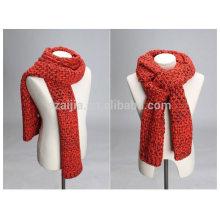 Femme hiver fantaisie mode acrylique tricoté écharpe longue