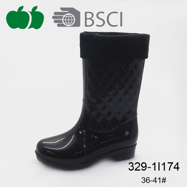 fashion waterproof rain boot