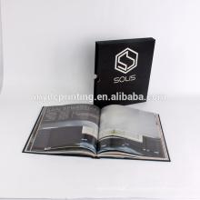 Совершенная вязка книга в твердой обложке печатая с жестким рукавом