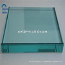 6mm 8mm 10mm épais loupe trempée de couleur pour l'impression dans l'usine de verre chinois