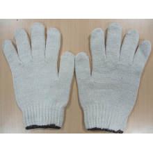 Gants blancs naturels de gants de gant de 60g