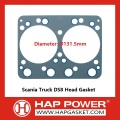 high quality diesel engine ISDE6.7 cylinder gasket 4946619 4932210