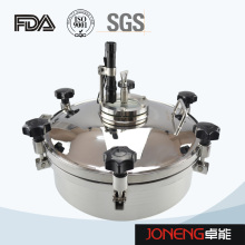 Stainless Steel Hygienic Round Type Manhole with Light (JN-ML2002)