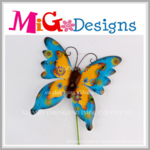 Nuevos productos Metal Butterfly Wall Art para House