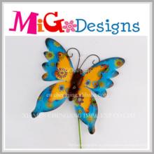 Новые продукты металл Бабочка стены искусства для дома