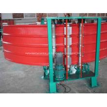 Máquina de curva de aço galvanizada perfil trapezoidal