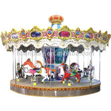 Niños Parque de diversiones parque infantil Equipo Niños Merry Go Ronda de venta