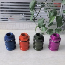 ISO16028 Quick Coupling FF0B Female Red