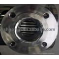 Calentador de agua de acero inoxidable sanitario y intercambiador de calor de tubos