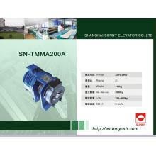 Tracción sin engranaje para elevador (SN-TMMA200A)