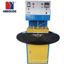 Máquina de sellado térmico con tarjeta de blister de tres estaciones