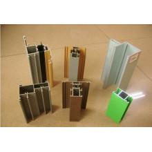 Peso de la sección de aluminio para ventanas y puertas