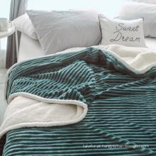 cobertor macio super do sherpa do velo 60 * 80inch