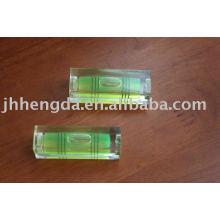 whole bubble level vial