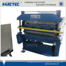 Mais popular MRRY760 / 686 ondulado máquina de dupla camada de folha de metal