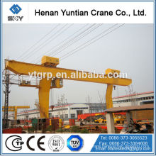 China Famous Brand Henan Yuntian L Model Single Girder Gantry Crane