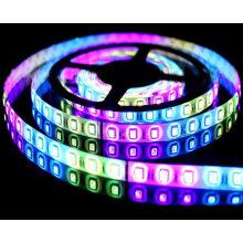 Горячие продажи не водонепроницаемые светодиодные ленты SMD 5050 RGB ...