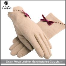 China Wholesale guantes de lana de encargo